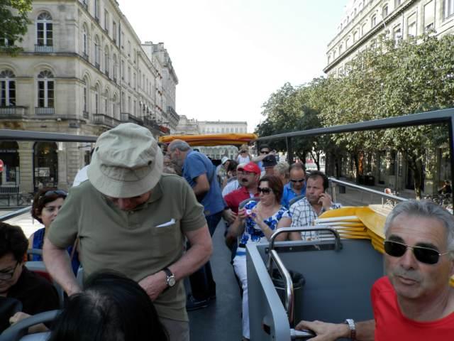 Visite d'Espelette et de Bordeaux